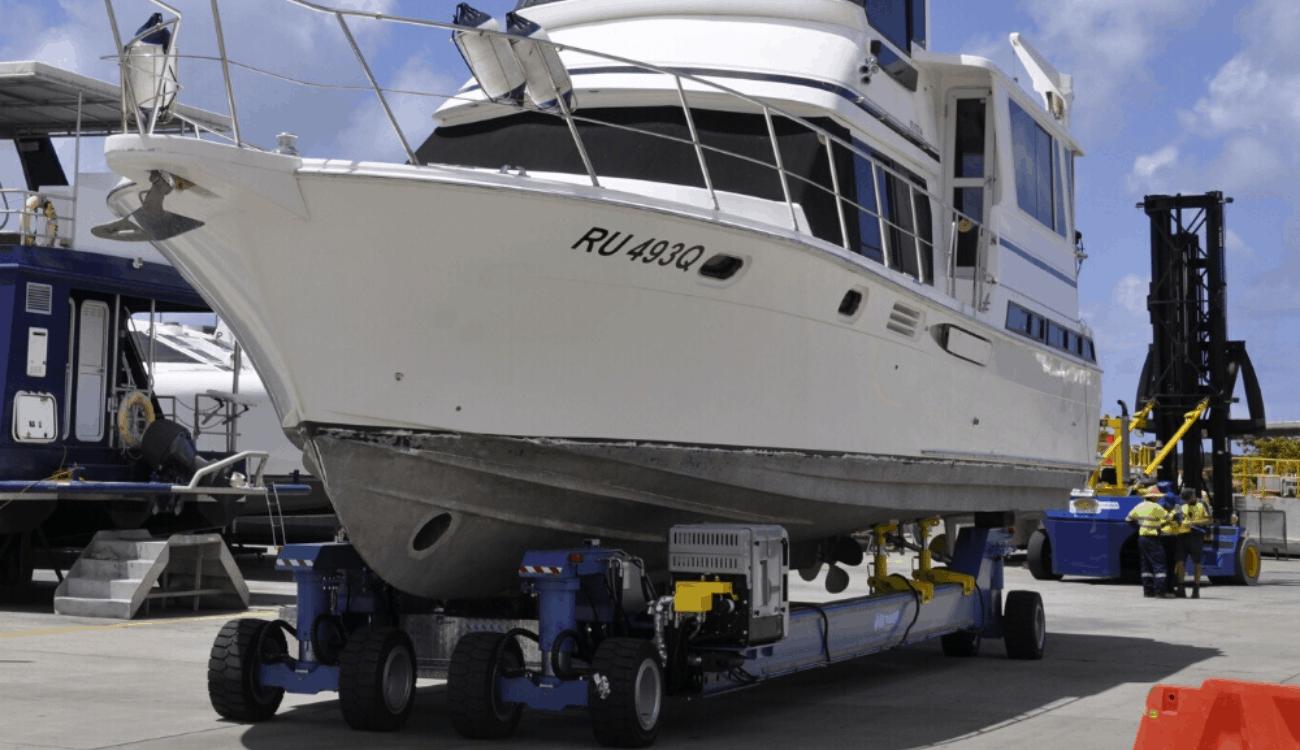 AirLift-ASCOM-ABI Trailer-MBT45 Motorised Boat Trailer