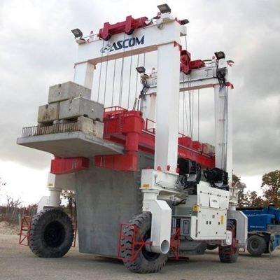 AerLift-ASCOM automated concrete equipment lifter
