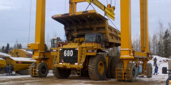 AerLift ASCOM Mining Staddle Carrier