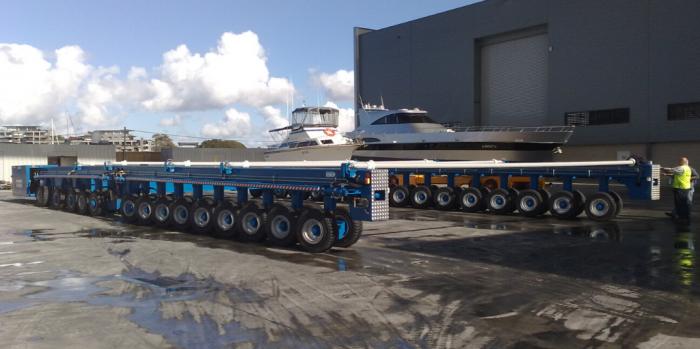 Airlift Ascom ABI self propelled trailer