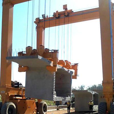 AerLift-ASCOM Automatic concrete rail mounted gantry crane