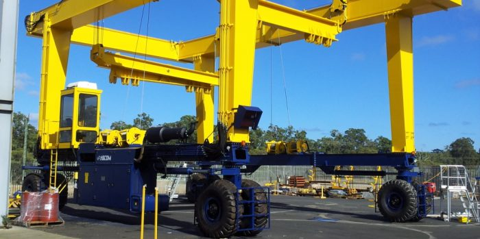 AerLift ASCOM Automated Rail Mounted Gantry Crane