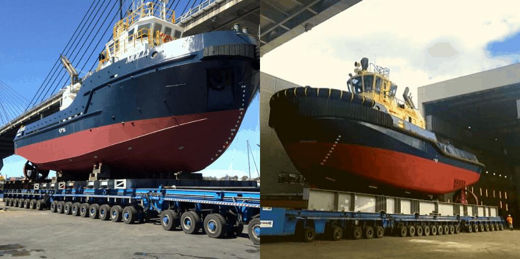 AerLift Ascom ABI BHT400 self propelled trailer