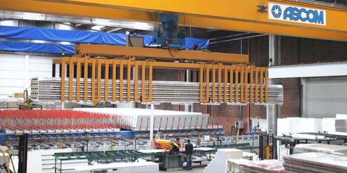 AerLift Ascom overhead cranes & Rail Gantry