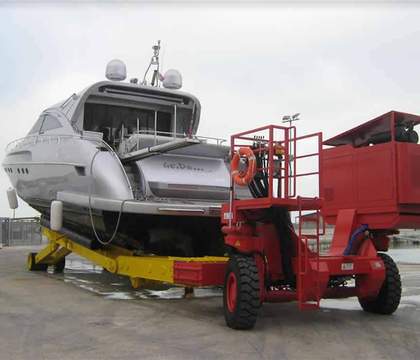Slipway Trailer (motorised)